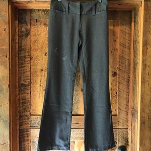 Dark charcoal dress pants (Size 1/2 reg)